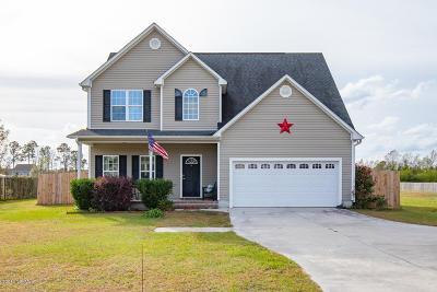 Richlands Single Family Home For Sale: 723 Francktown Road