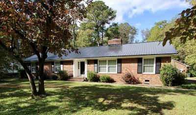 Edgecombe County Single Family Home For Sale: 1904 Bingham Drive