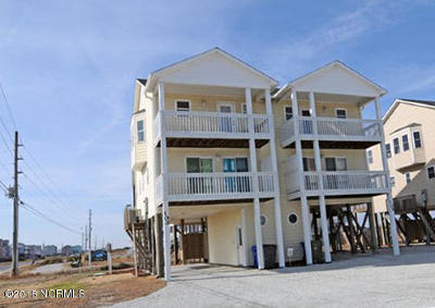 North Topsail Beach, Surf City, Topsail Beach Condo/Townhouse For Sale: 103 Volusia Drive