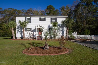 Ocean Isle Beach Single Family Home Pending: 6570 Ocean Aire Road SW