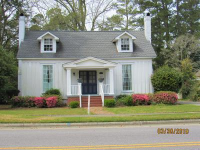 Whiteville NC Single Family Home For Sale: $115,000