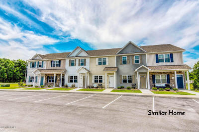 Sneads Ferry Condo/Townhouse For Sale: 311 Justice Farm Drive
