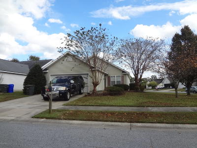 Greenville NC Single Family Home For Sale: $125,000