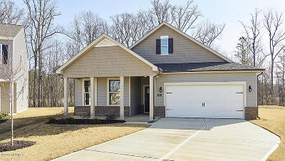 Rocky Mount Single Family Home For Sale: 404 Golden Villas