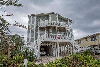 Holden Beach Condo/Townhouse For Sale: 227 Ocean Boulevard W #A