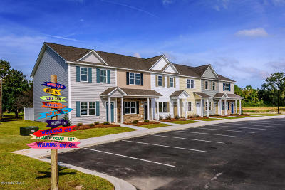 Sneads Ferry Condo/Townhouse For Sale: 301 Justice Farm Drive