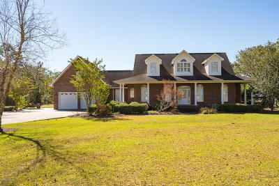 Beaufort Single Family Home For Sale: 1335 Harkers Island Road
