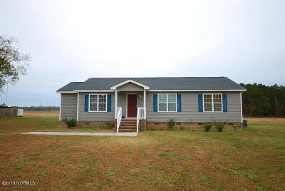 Edgecombe County Single Family Home For Sale: 876 Green Pasture Road