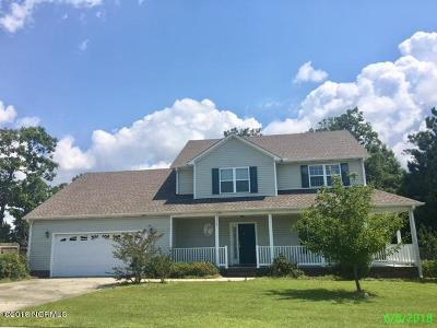 Swansboro Single Family Home Active Contingent: 116 Cormorant Drive