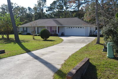 Ocean Isle Beach NC Single Family Home For Sale: $179,900
