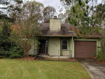 Onslow County Single Family Home Active Contingent: 1106 Calico Court