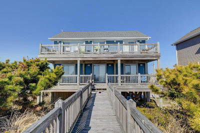 Surf City Single Family Home For Sale: 602 N Shore Drive