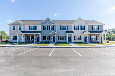 Sneads Ferry Condo/Townhouse For Sale: 307 Justice Farm Drive #Lot #16