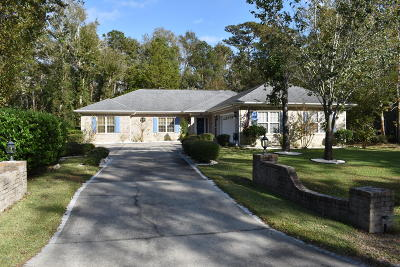 Carolina Shores Single Family Home For Sale: 66 Calabash Drive