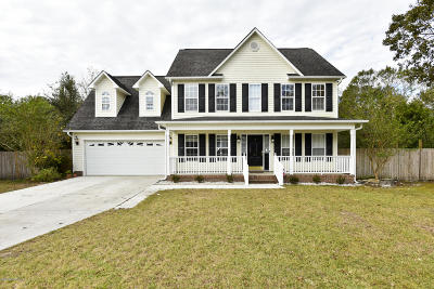 Richlands Single Family Home For Sale: 217 English Walnut Drive