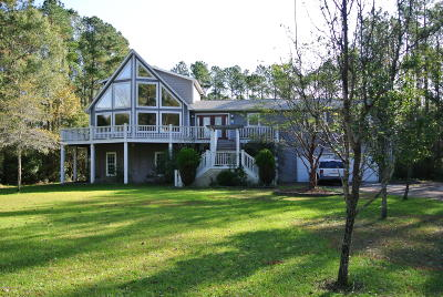 Beaufort NC Single Family Home For Sale: $275,000