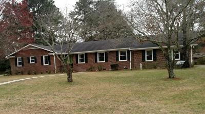 Rocky Mount Single Family Home For Sale: 3513 Colonial Lane