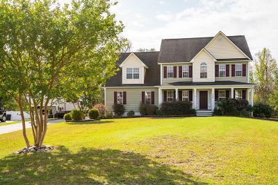 Newport Single Family Home For Sale: 404 Landfall Court