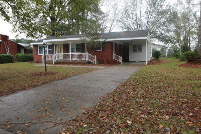 Whiteville NC Single Family Home For Sale: $124,900