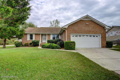 Sneads Ferry Single Family Home For Sale: 301 Whirlaway Boulevard