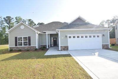 New Bern NC Single Family Home For Sale: $216,500