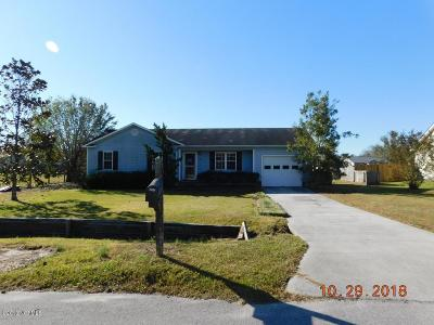 Jacksonville NC Single Family Home For Sale: $85,000
