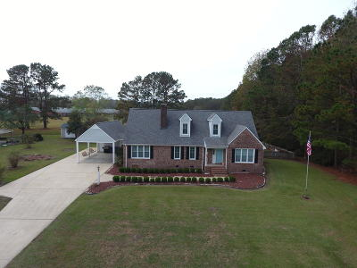 New Bern Single Family Home For Sale: 4803 Haywood Farms Road