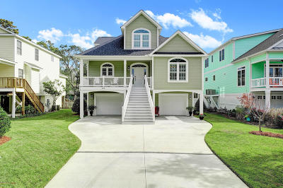 Oak Island NC Single Family Home For Sale: $750,000