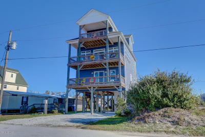 North Topsail Beach, Surf City, Topsail Beach Single Family Home For Sale: 8300 5th Avenue