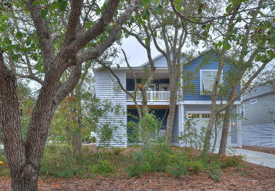 Oak Island Single Family Home For Sale: 208 W Oak Island Drive #W