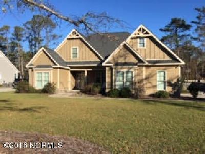 Newport Single Family Home For Sale: 117 Break Water Drive