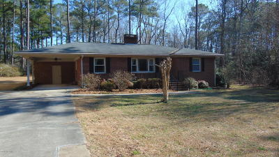 Rocky Mount Single Family Home For Sale: 4493 S Browntown Road