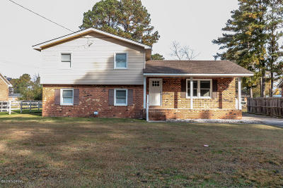 Rocky Mount Single Family Home For Sale: 1628 Bedford Road