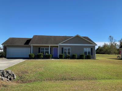 Onslow County Single Family Home Active Contingent: 116 Hardin Drive