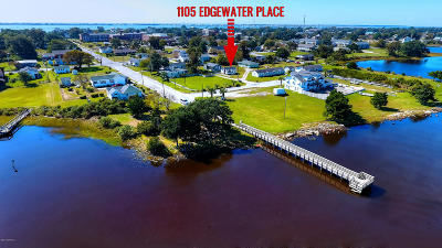Morehead City Single Family Home For Sale: 1105 Edgewater Place