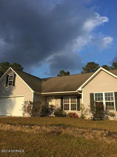 Richlands Single Family Home For Sale: 315 Snow Bell Court