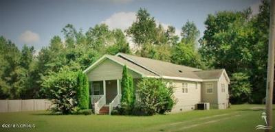 Whiteville NC Single Family Home For Sale: $97,500