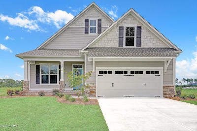 Holly Ridge Single Family Home For Sale: 401 Summerhouse Drive