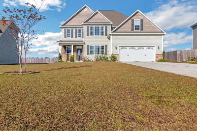 Maple Hill Single Family Home For Sale: 124 Saw Grass Drive