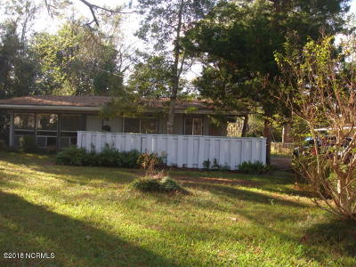 New Bern Single Family Home For Sale: 907 Devers Avenue