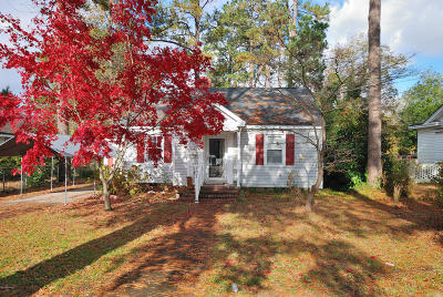 Rocky Mount Single Family Home For Sale: 1520 Sunset Avenue