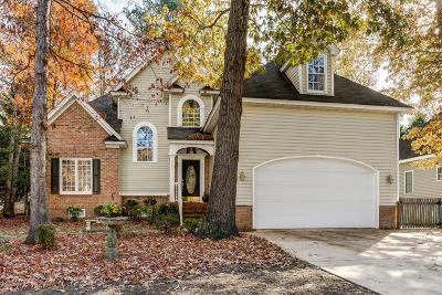 Rocky Mount Single Family Home For Sale: 3037 Woods Walk Way