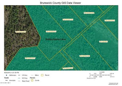 Boiling Spring Lakes Residential Lots & Land For Sale: Tract 10