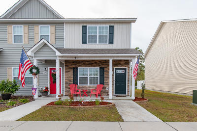 Sneads Ferry Condo/Townhouse For Sale: 636 Ebb Tide Lane