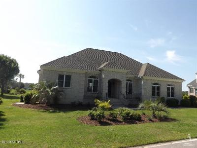 Ocean Isle Beach Single Family Home For Sale: 6516 Stonley Circle SW