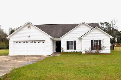 Onslow County Single Family Home For Sale: 125 Spring Leaf Lane