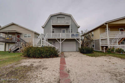 Holden Beach Single Family Home For Sale: 123 Burlington Street W