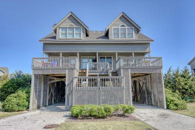 North Topsail Beach, Surf City, Topsail Beach Condo/Townhouse For Sale: 2116 Ocean Boulevard #B