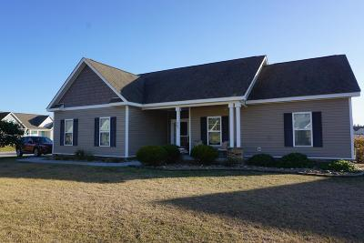 Cape Carteret Single Family Home For Sale: 201 Coldwater Drive