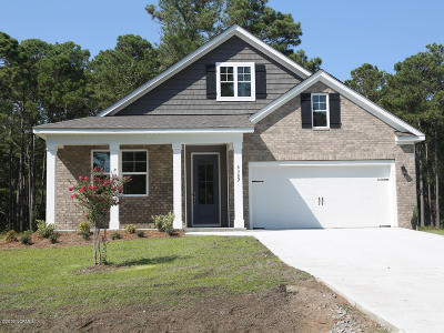 Southport Single Family Home For Sale: 5383 Glennfield Circle SE #Lot #52
